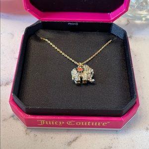 ✨ NWT Juice Couture Elephant Pendant Necklace.